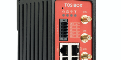IoT connectivity box provides remote access in industrial areas