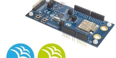 Development kit connects Bluetooth/LPWAN devices
