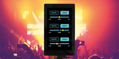 MIPI DSI displays offer projected capacitive touch