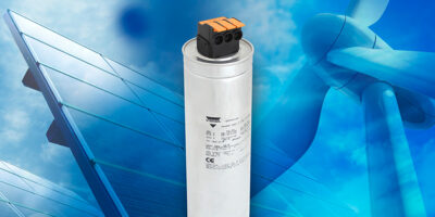 LVAC power capacitors improve connection with lever-operated terminal