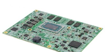 COM Express module is powered by AMD Ryzen Embedded V1000