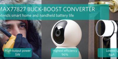 Buck-boost converter improves portable device efficiency