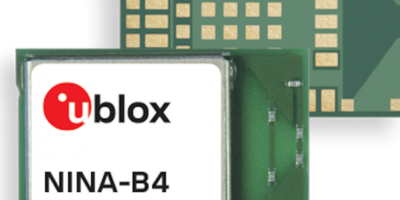 Bluetooth low energy module from u-blox includes direction finding