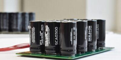 Ultracapacitors drive industrial robotics