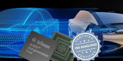 Embedded safety controller is 'first to be ASIL-D certified to ISO 26262:2018'