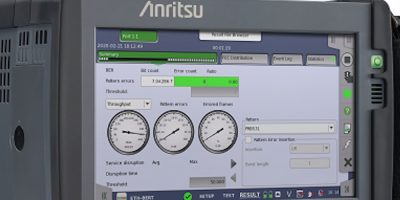 Network Master Pro MT1040A evaluates 400G networks
