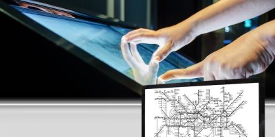 E-paper display provides information in smart cities