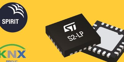STMicroelectronics bases smart building KNX-RF software on S2-LP transceiver