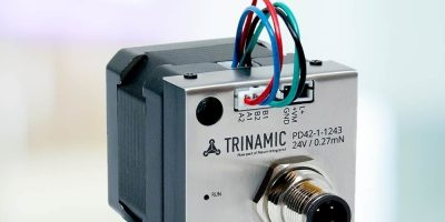 Intelligent IOLINK actuator reduces power by more than 50 per cent