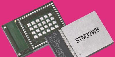STM32 wireless microcontroller module reduces IoT development time