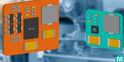 DC/DC inverting converters shrink automation form factor and energy budget