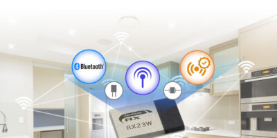 RX23W module with full Bluetooth 5.0 low energy support targets IoT endpoint devices
