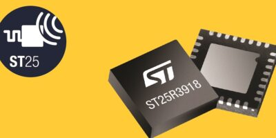 NFC transceiver open up accessory ID, says STMicroelectronics