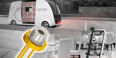 75W high optical output laser diode supports long distances, says Rohm
